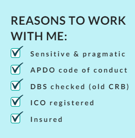 Reasons to work with me